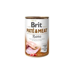 BRIT CARE Boutiques Gourmandes Rabbit Pate & Meat, 400 g