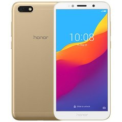 Honor 7S, Dual SIM, LTE, 16 GB, Золотистый