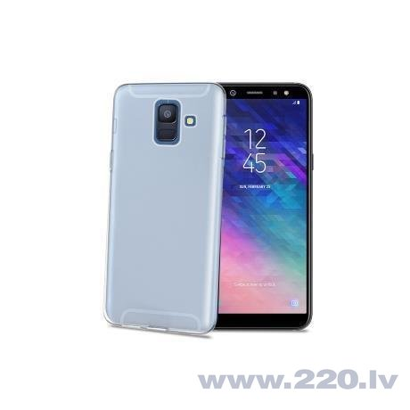 CELLY GELSKIN COVER SAMSUNG GALAXY A6 PLUS (2018) CLEAR