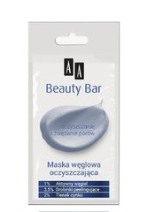 Sejas maska ar aktivētu ogli AA Beauty Bar 8 ml