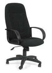 Biroja krēsls Chairman 727, gobelēns, melns cena un informācija | Biroja krēsls Chairman 727, gobelēns, melns | 220.lv