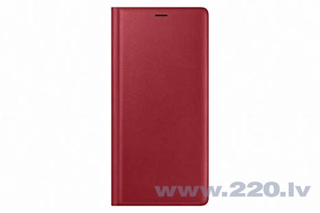 Samsung Galaxy Note 9 Leather View Case Red