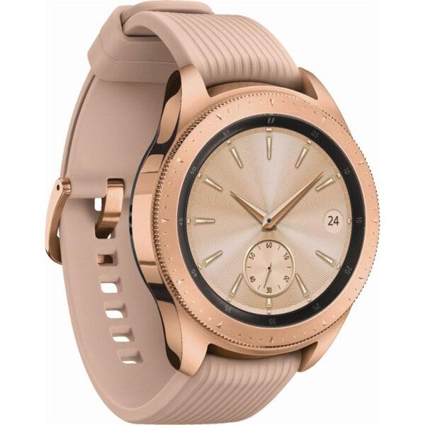 Samsung Galaxy Watch 42mm BT, Rozā / Zeltains