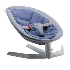Bērnu šūpuļkrēsliņš Nuna Leaf ™ Dawn, melns