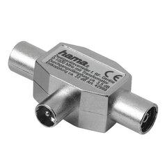 Antenas pagarinātājs Hama, Coax-F/ Coax-M cena un informācija | Adapteri un USB centrmezgli | 220.lv