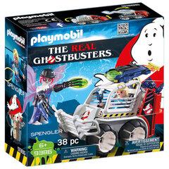 9386 PLAYMOBIL® The Real Ghostbusters Spengler un automašīna cena un informācija | 9386 PLAYMOBIL® The Real Ghostbusters Spengler un automašīna | 220.lv