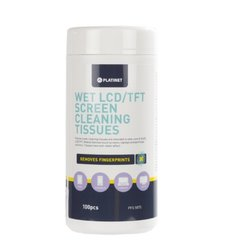 Platinet LCD cleaning wipes PFS5875 100pcs cena un informācija | Platinet LCD cleaning wipes PFS5875 100pcs | 220.lv
