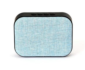 Omega OG58BL Bluetooth 4.1 Wireless Speaker with FM Radio / Handsfree / MicroSD / USB / 3W / Blue