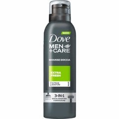Putu dušas želeja Dove Men + Care 48h Shower Foam Extra Fresh vīriešiem 200 ml