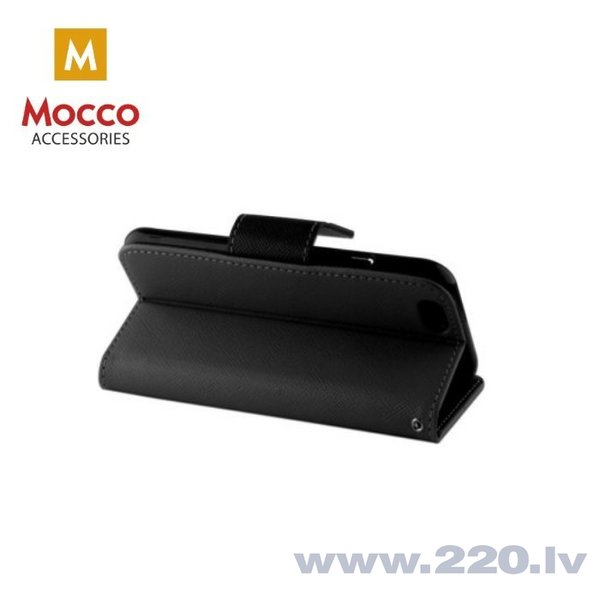 Mocco Fancy Book Case For Huawei Y5 (2018) Black