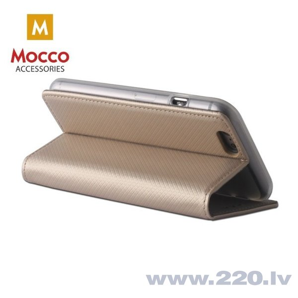 Mocco Smart Magnet Book Case For Xiaomi Redmi S2 Gold atsauksme
