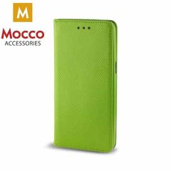 Mocco Smart Magnet Book Case For Huawei P10 Green