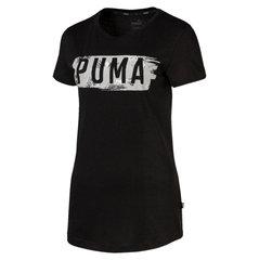 Женская футболка Puma Fusion Graphic цена и информация | Футболки | 220.lv