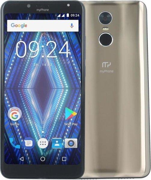 MyPhone Prime, Zelta