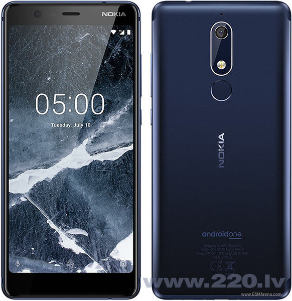 Nokia 5.1 Dual SIM 32GB TA-1075 Tempered Blue