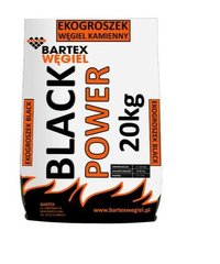 Ogļu granulas Bartex Black Power 27 MJ, 20kg