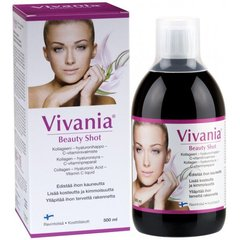 Dzeramais kolagēns Vivania Beauty Shot 500 ml
