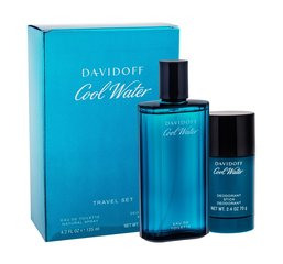 Комплект Davidoff Cool Water: EDT для мужчин 125 мл + шариковый дезодорант 70 г