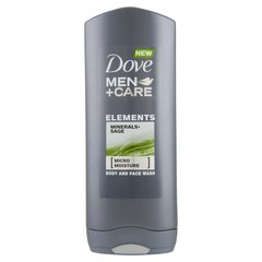 Dušas želeja Dove Men + Care Elements Micro Moisture Minerals Sage vīriešiem 400 ml