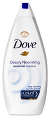 Dušas želeja Dove Nourishing Deeply Nourishing 750 ml