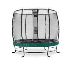 Batuts EXIT Elegant Premium, 253 cm, Deluxe tīkls, zaļš