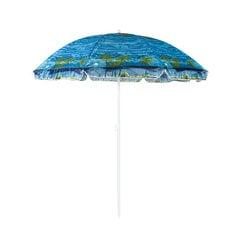 Āra lietussargs Ibiza, zilā krāsā cena un informācija | Saulessargi, marķīzes un statīvi | 220.lv