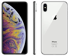 Apple iPhone Xs Max, 64 GB, sudraba
