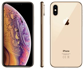 Apple iPhone Xs, 512 GB, zelta