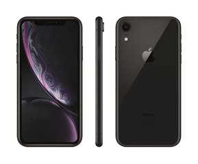Apple iPhone XR, 256 GB, Melns
