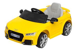 Elektriskais bērnu automobilis Audi TT RS 12V, dzeltens