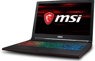 MSI GP63 Leopard (8RE-060XPL) 8 GB RAM/ 512 GB M.2 PCIe/ 1TB HDD/ Windows 10 Pro
