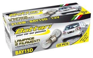 Automašīnas spuldzes Bottari BAY15D, 10 gab cena un informācija | Automašīnas spuldzes Bottari BAY15D, 10 gab | 220.lv