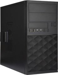 IN-WIN EFS052 Mini-Tower, juodas (EFS052.U3U2AQC) цена и информация | Корпуса | 220.lv