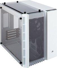 Corsair Crystal 280X Tempered Glass, baltas, su langu (CC-9011136-WW) cena un informācija | Datora korpusi | 220.lv