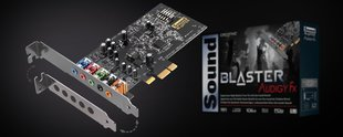 Creative Sound Blaster Audigy Fx, 5.1, PCI-E (30SB157000001)