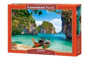 "Puzle ""Ko Phi Phi Le, Thailand"" Castorland, 1000 gab. cena un informācija | Puzle ""Ko Phi Phi Le, Thailand"" Castorland, 1000 gab. | 220.lv"