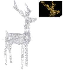 Ziemassvētku gaismas dekorācija Briedis
