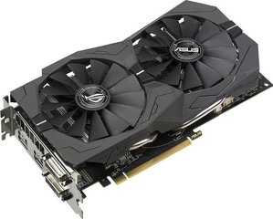 Asus Radeon RX 570 STRIX, 4GB GDDR5 (256 Bit) HDMI, 2xDVI-D, DP, BOX (ROG-STRIX-RX570-4G-GAMING)