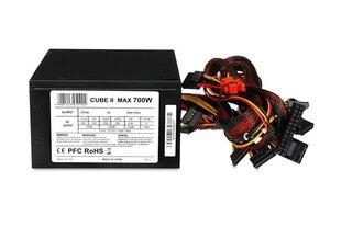I-BOX CUBE II 700W (ZIC2700W12CMFA) cena un informācija | Barošanas bloki (PSU) | 220.lv