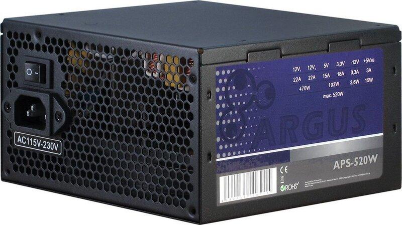 Inter-Tech Argus APS-520W (88882117)