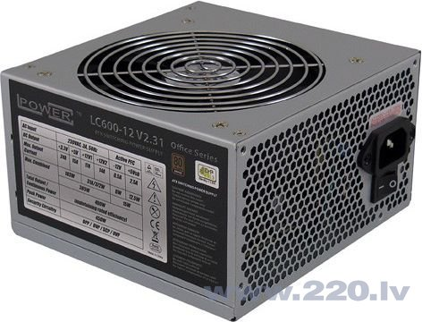 LC-Power Netzteil 450W (LC600-12 V2.31)