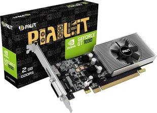 Palit GeForce GT 1030 2GB GDDR5 (64 bit), DVI-D, HDMI, BOX (NE5103000646F)