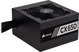 Corsair CX650 650W (CP-9020122-EU) cena un informācija | Barošanas bloki (PSU) | 220.lv