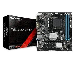 ASRock 760GM-HDV cena un informācija | ASRock 760GM-HDV | 220.lv