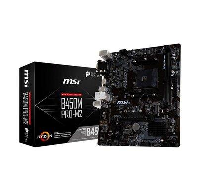 MSI B450M PRO-M2 cena un informācija | MSI B450M PRO-M2 | 220.lv