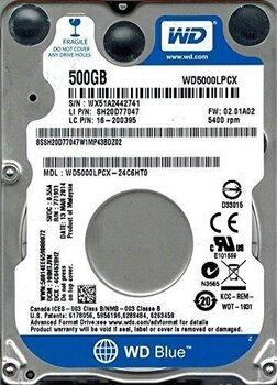 "Western Digital Blue 2.5"" 500GB (WD5000LPCX) cena un informācija | Cietie diski (HDD, SSD, Hybrid) | 220.lv"