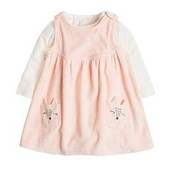 Cool Club kleita un bodijs ar garām piedurknēm meitenēm, CNG1703355-00 cena un informācija | Apģērbs zīdaiņiem/bērniem | 220.lv