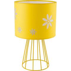 TK Lighting galda lampa Flora Yellow cena un informācija | Bērnu apgaismojums | 220.lv