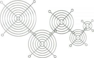 InLine Fan Guard Metal Chromium Plated 120x120mm (33370) цена и информация | Аксессуары для компонентов | 220.lv