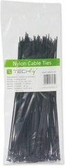 Techly Nylon Clamps 100 x 2.5mm 100 pcs, Black (306356) cena un informācija | Techly Nylon Clamps 100 x 2.5mm 100 pcs, Black (306356) | 220.lv